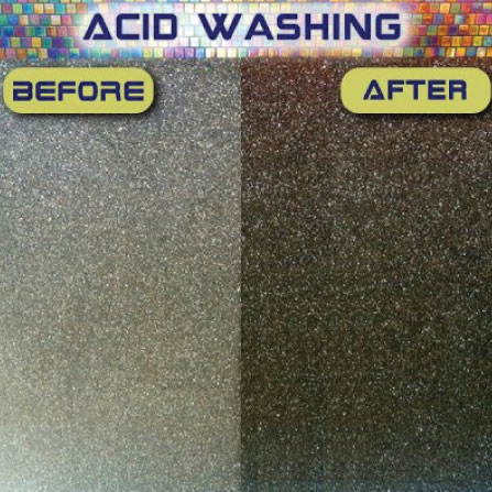 Pool Acid Washing